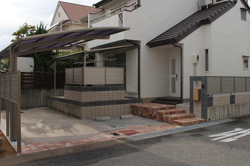 ガレージ拡張工事 お客様の声 神戸市西区 S様 1