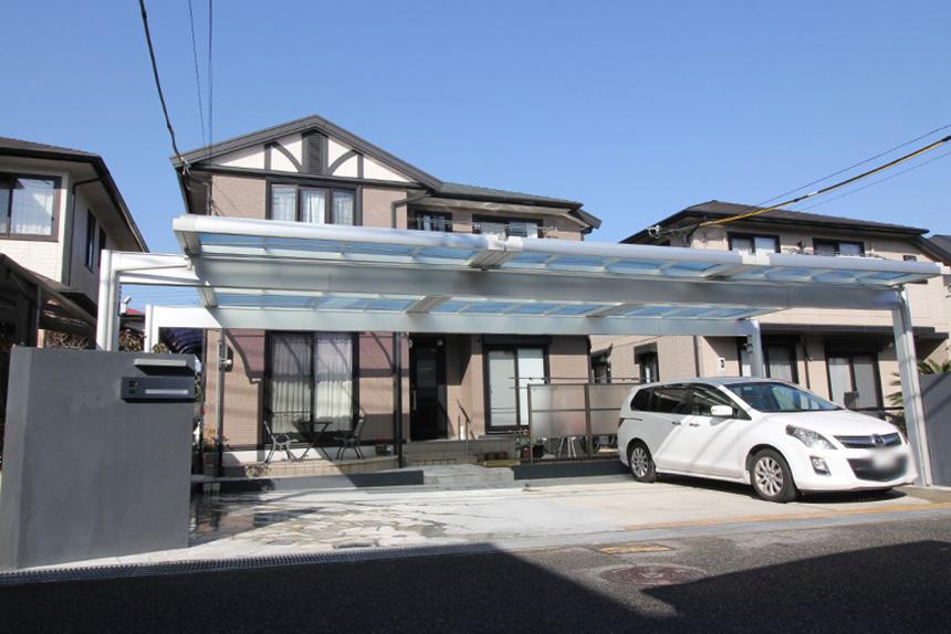 ガレージ拡張工事 お客様の声 神戸市西区 K様 1