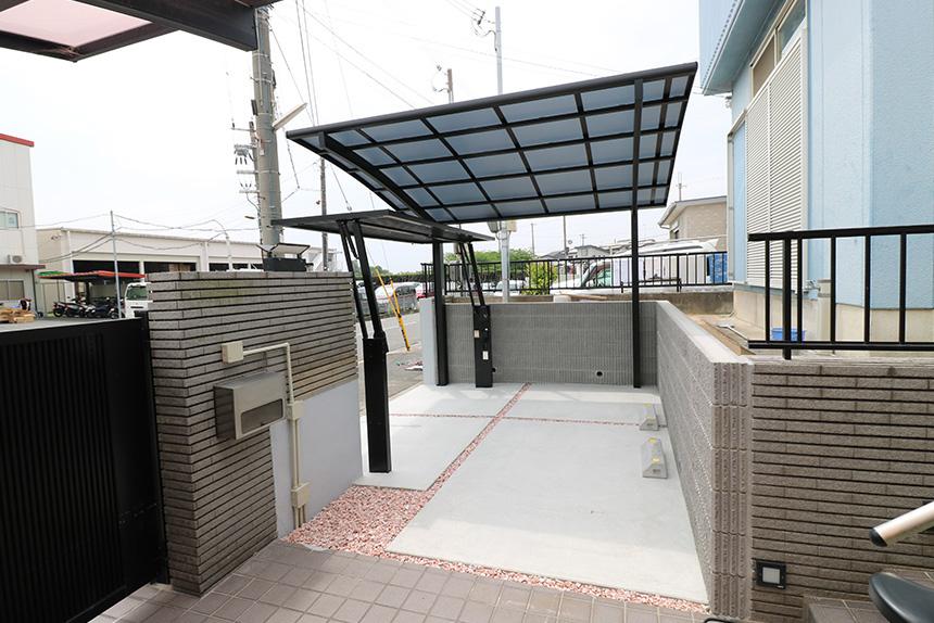 ガレージ拡張工事 お客様の声 神戸市西区 F様 1