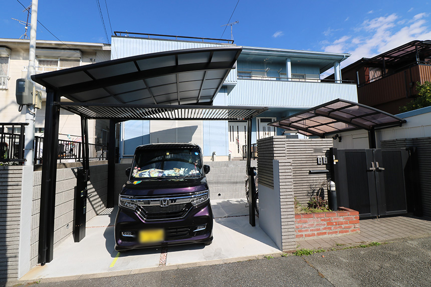 ガレージ拡張工事 お客様の声 神戸市西区 F様 2